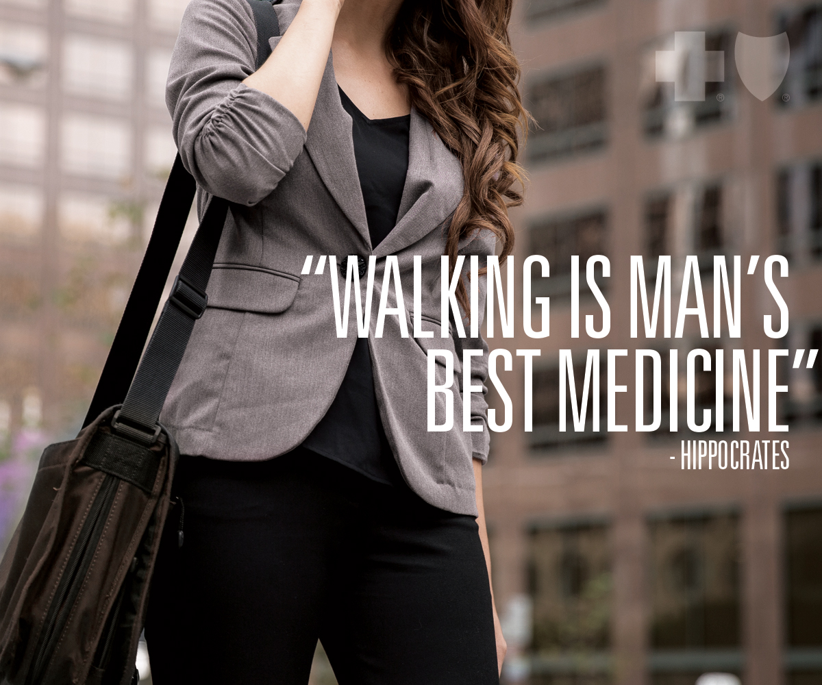 Walking is man's best friend