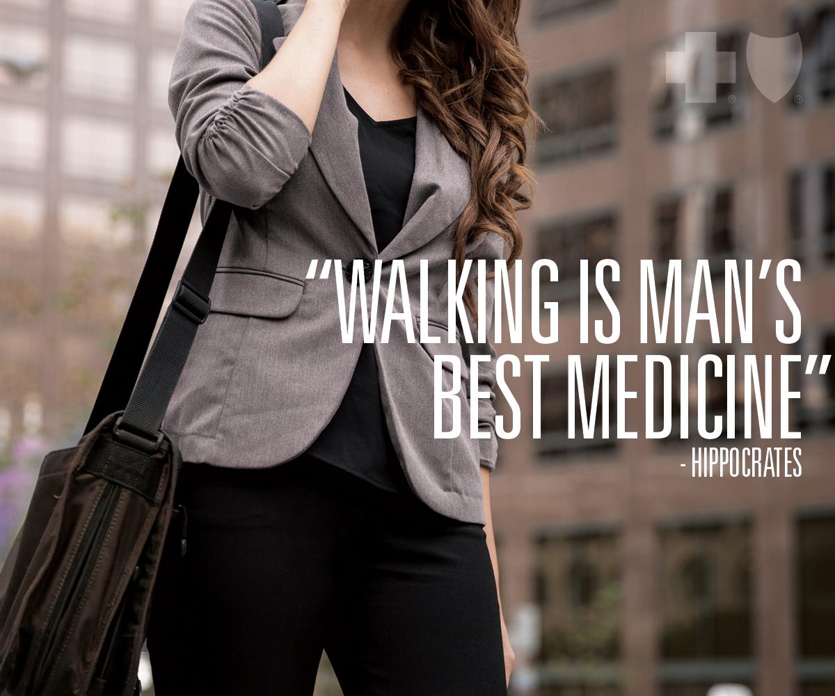 Walking is man's best friend