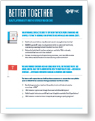 Better Together fact sheet icon
