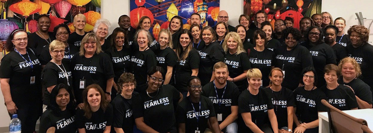 State Healthcare Support Program Fearless Team Photo