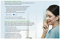 Learn more about Health Line Blue