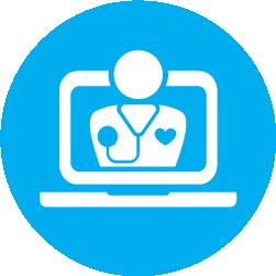virtual doctor icon