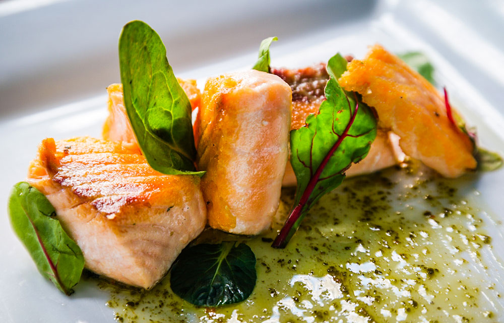 Tomato Basil Salmon photo