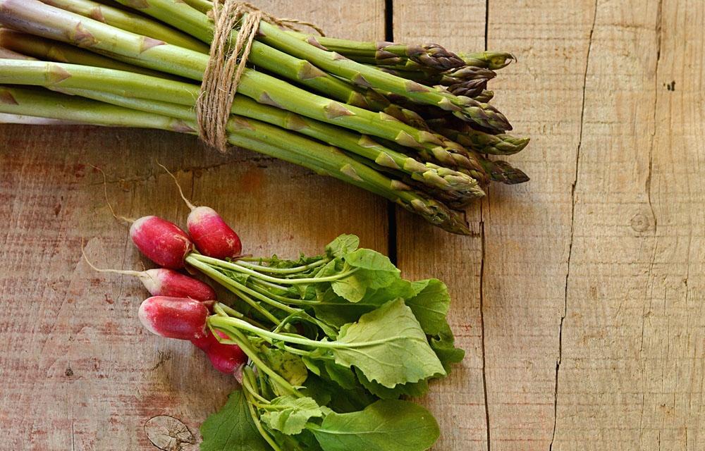 Asparagus and Radish